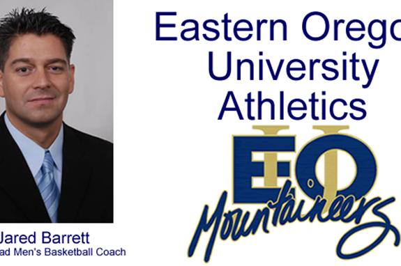 EOU MBB Head Coach Jared Barrett