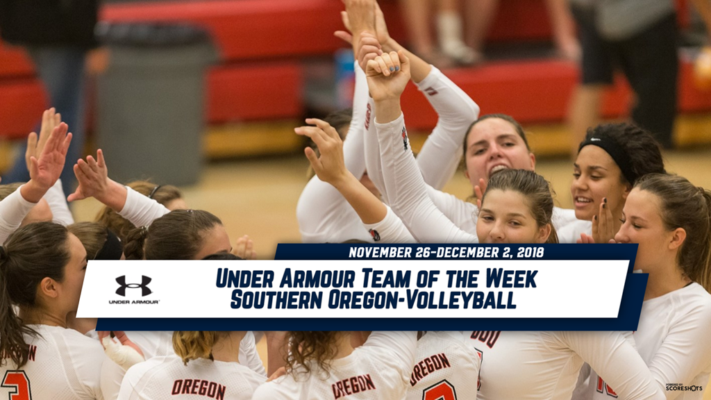 Under Armour Team of the Week Announced - Cascade Collegiate Conference