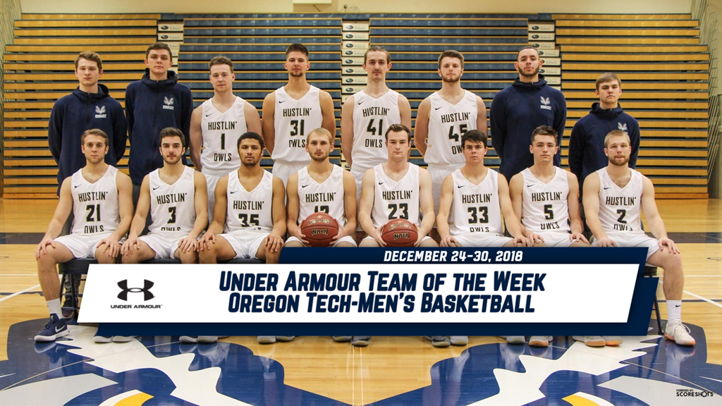 Under Armour Team of the Week Announced