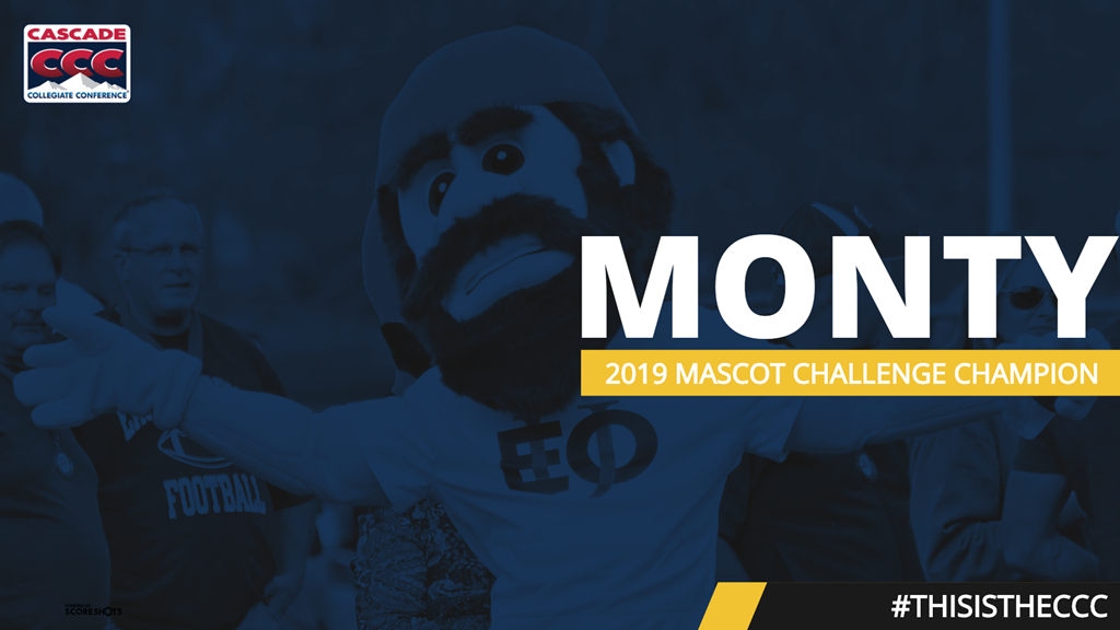Monty the Mountaineer Claims First-Ever CCC Mascot Challenge Title for Eastern Oregon