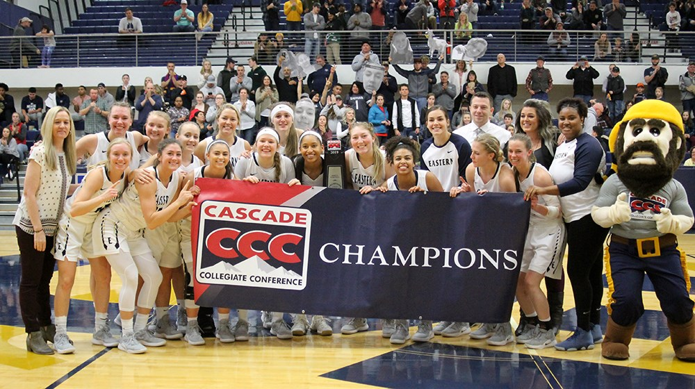 No. 9 EOU Claims CCC Title Outright with 84-38 Win over Multnomah